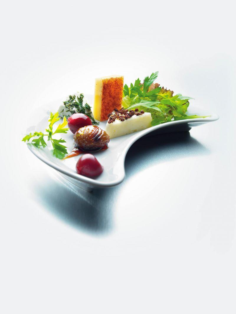 Assiette de Beaufort aux marrons glacés<