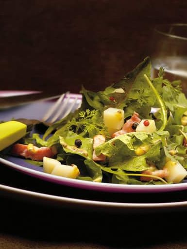 Salade de Pissenlits au Beaufort<