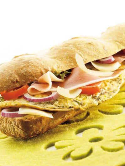 Sandwich du randonneur<