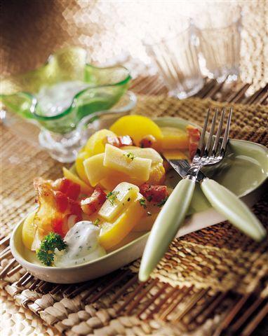 Salade Savoyarde au Beaufort<